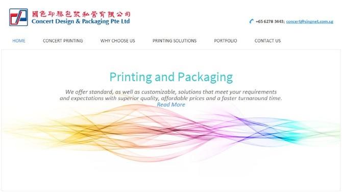 webBig :: Carton Box & Packaging :: Concert Design & Packaging Pte Ltd